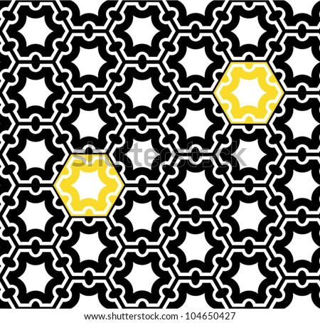 Seamless geometric pattern. Op art design.