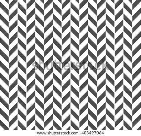 Seamless Geometric Pattern. Regular Tiled Ornament. Vector - stock vector