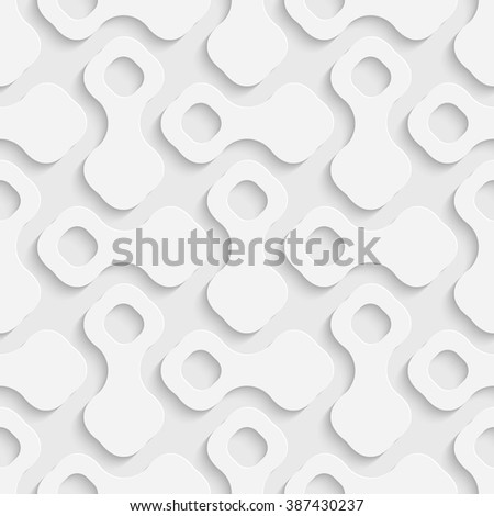 Seamless Geometric Pattern. Vector Soft Background