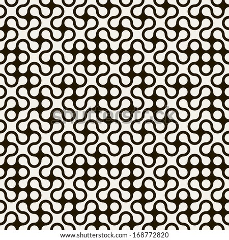 Seamless geometric pattern. Vector texture. Repeating maze - stock vector