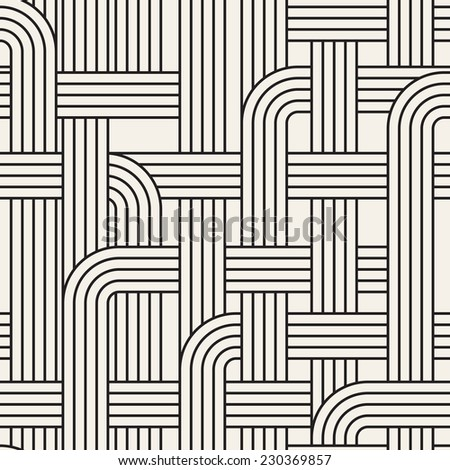 Seamless geometric pattern. Vector texture. Repeating maze
