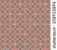 Seamless geometric pattern with circles. Can be used in textiles, for book design, website background. - stock photo
