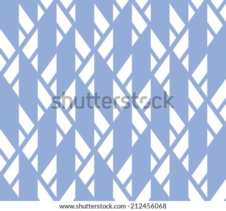 Seamless geometric  striped pattern background - stock vector