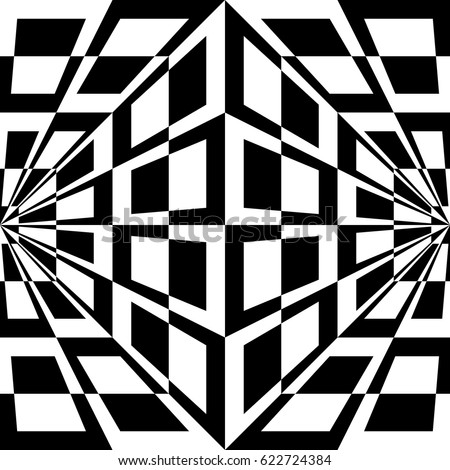 Optical stock images royalty free images vectors for Geometric illusion art