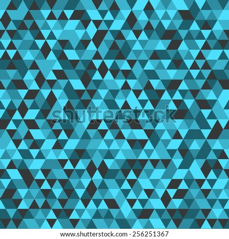 Seamless geometric triangle texture.