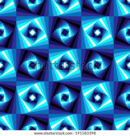 Seamless Geometric Vector Pattern - stock vector