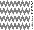 Seamless geometric zigzag pattern. Vector art. - stock photo