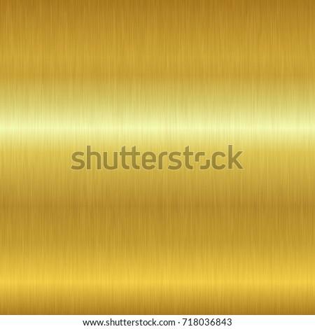 Seamless Gold Metal Texture