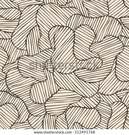 Seamless graphic hand-drawn pattern, Abstract texture. Decorative illustration for print, web