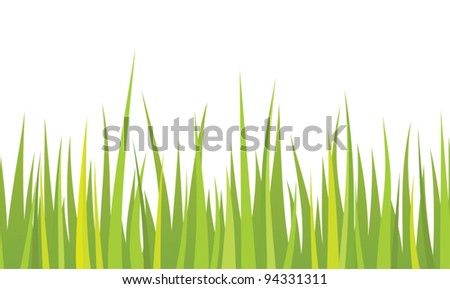Seamless grass - stock vector