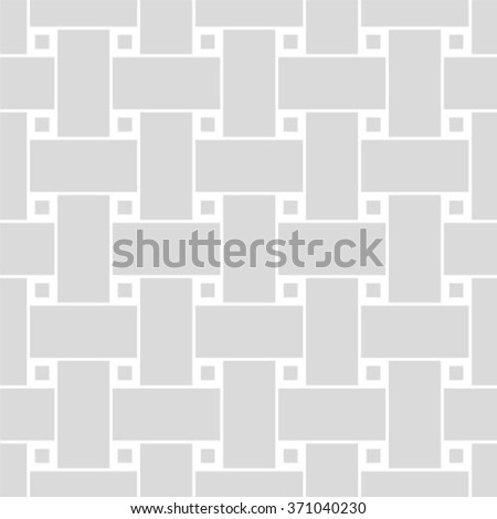 Seamless gray woven pattern vector