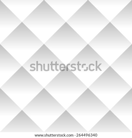 Seamless Grayscale Pattern with Squares (Repeatable) - stock vector