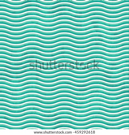 Seamless Grunge Striped Waved Background