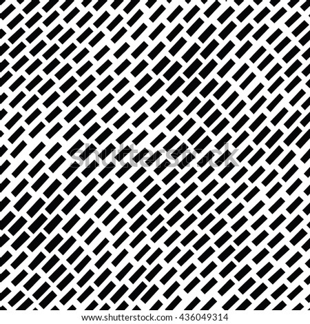 Seamless hand drawn pattern with lines. Black and white texture background