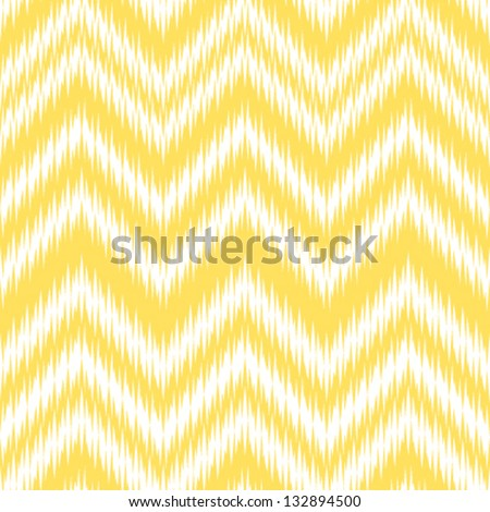 Seamless Ikat Chevron Background Pattern