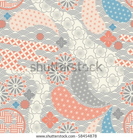 Japanese Pattern Stock Images Royalty Free Images Vectors