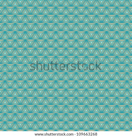 Seamless knitted background. Wicker texture, vector illustration - stock vector