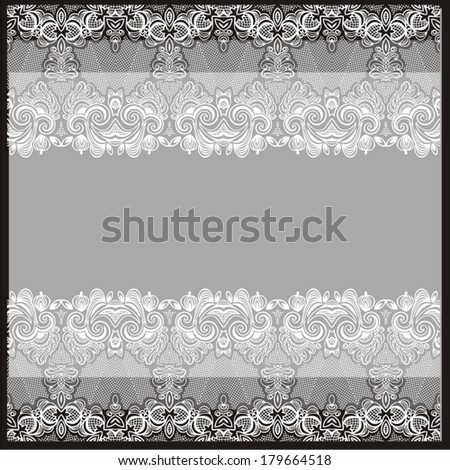 Seamless lace pattern for paisley can be used for wallpaper, pattern fills, web page background, surface textures. Vector illustration.