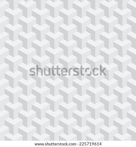 seamless light gray blocks - stock vector
