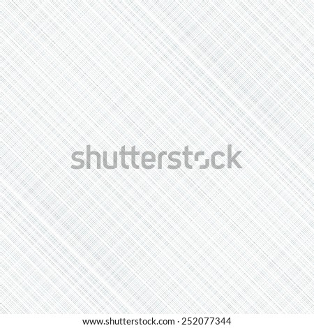 Seamless light gray fabric texture. Vector illustration. - stock vector