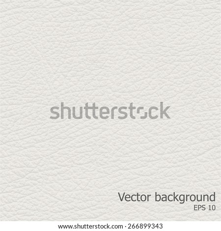 Seamless light leather texture, detalised Vector background.