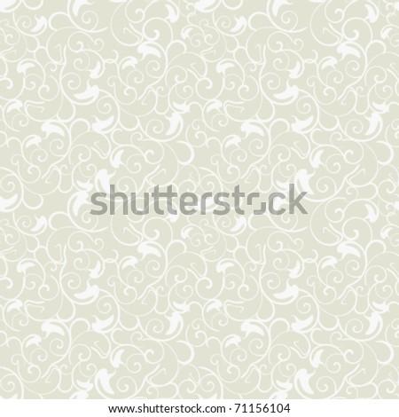 Seamless light openwork background - stock vector