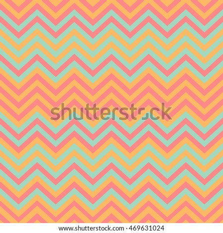 Seamless lines pattern with colorful stripes