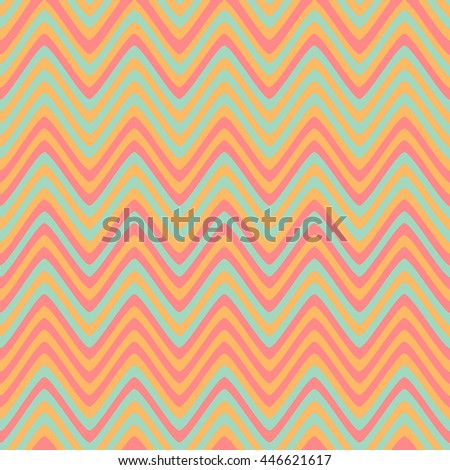 Seamless lines pattern with colorful stripes. Vector repeating texture.