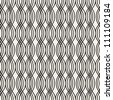 seamless mesh pattern - stock photo