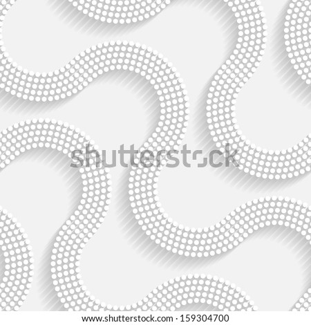 Seamless Modern Background - stock vector