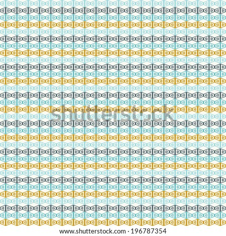 Seamless modern vector pattern. Repeating geometric tiles.Eps 10