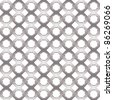 Seamless netting pattern, vector background. - stock vector