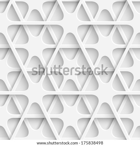 Seamless Network Background - stock vector