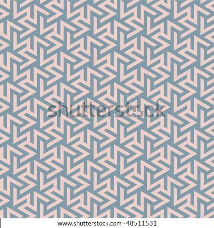 Seamless ornamental background - stock vector