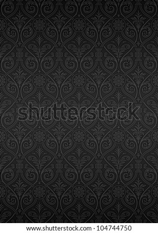 Seamless ornamental pattern - stock vector