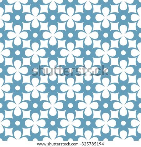 seamless ornamental pattern vector illustration - stock vector