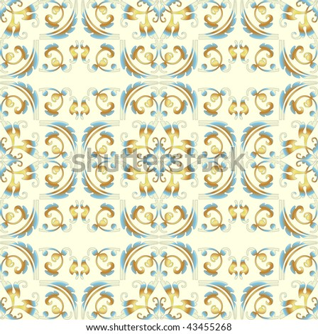 Seamless ornate background