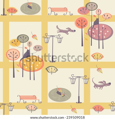 seamless patter - stock vector