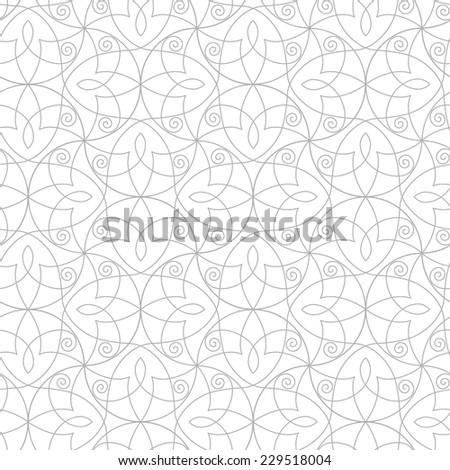 Seamless  pattern a white background. Abstract Vector Illustration.