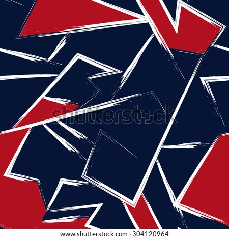 Seamless pattern, abstract geometric background.Can be used for wallpaper, pattern fills, web page background,surface textures.  - stock vector
