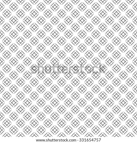 Seamless pattern. Abstract geometrical background. Modern stylish texture with crossed lines. Regularly repeating elegant lattices. Vector element of graphical design