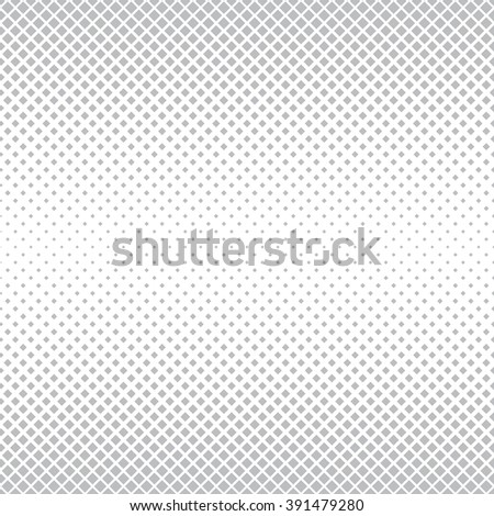 Seamless pattern. Abstract halftone background. Modern stylish texture. Repeating grid with rhombuses of the different size. Vector element graphic design - stock vector