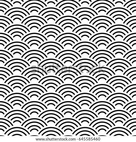 snake skin texture seamless pattern black stock vector