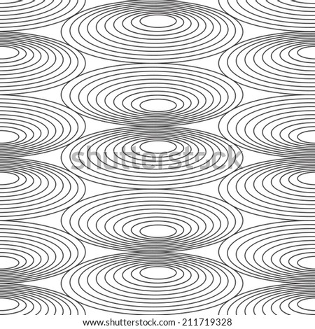 Seamless pattern. Abstract texture pattern with stylized simple ellipse background. Seamless pattern can be used for web page background, surface textures.  - stock vector
