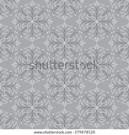 Seamless pattern. Abstract vector texture. Decorative floral pattern in victorian style. Can be used for wallpaper, textiles, wrapping paper, page fill, design, web page, background. - stock vector