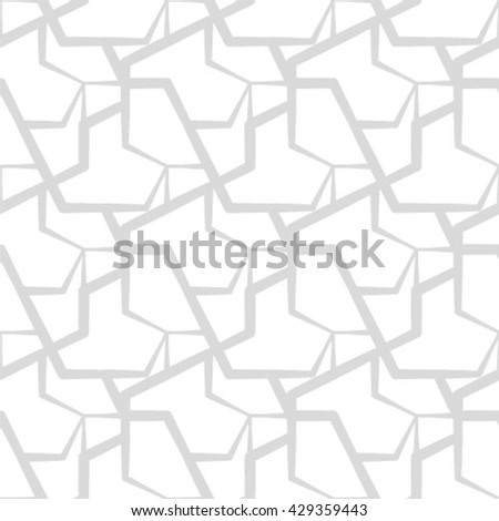 Seamless pattern. Abstract vintage geometric wallpaper. Vector illustration