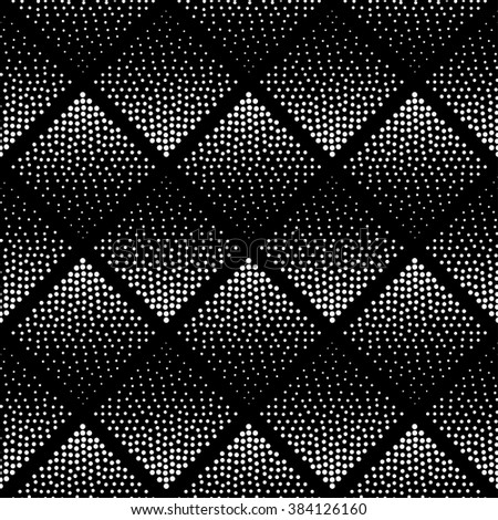 Seamless Pattern Background . Hipster Pattern . Monochrome Pattern . Black and White Pattern . Geometric Design . Vector Pattern . Abstract Design . Halftone Background . Dot Pattern Background.