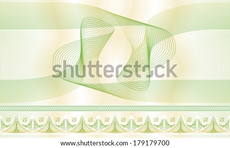 Seamless pattern, background, texture, background, decorative guilloche rosette for registration of securities, certificates, or diplomas. - stock vector