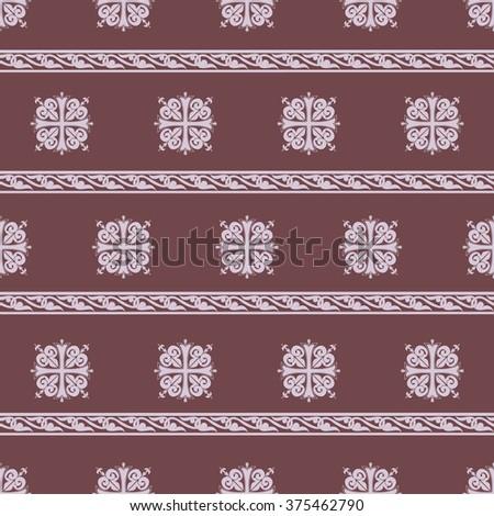 Seamless pattern. Celtic heritage. Pattern Vikings. Vector EPS 10 - stock vector