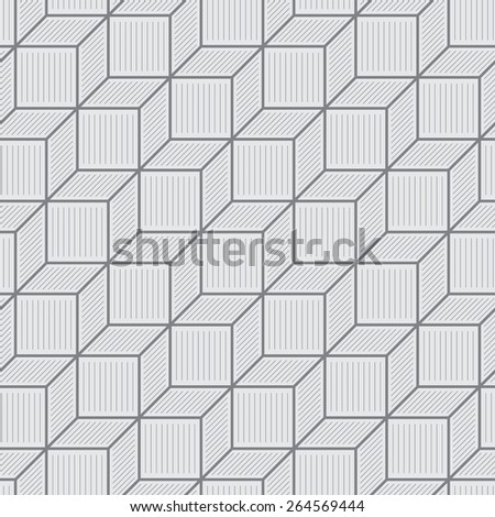 Seamless pattern. Classic geometric texture in the form of steps. Repeating diamonds, rhombus, fine lines. Monochrome. Backdrop. Web. Vector illustration - stock vector